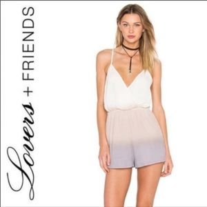 Lovers and friends charmed pastel ombré romper